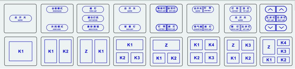کلید لمسی A7 - رایکا هوم